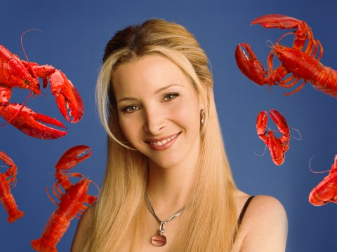 Phoebe Buffay's lobster theory in Friends has been a lie this whole time