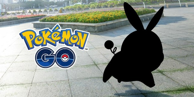 A silhouette of a Pokémon from Gen 5