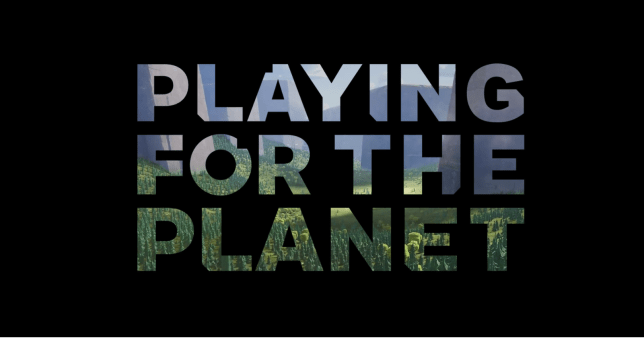 Sony and Microsoft unite to help fight global warming with Playing for the Planet Alliance