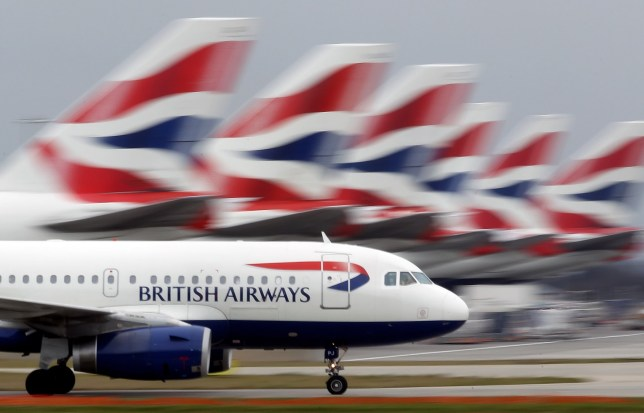 LONDON, ENGLAND - MARCH 19: A British Airways plane lands at Heathrow Airport on March 19, 2010 in London, England. The planned three day strike by BA cabin crew this weekend will now go ahead as talks between the airline and the union Unite collapsed earlier today. (Photo by Dan Kitwood/Getty Images)