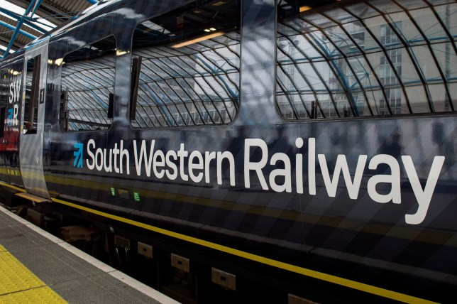 South Western Railway (SWR) train. Rail services on some of the busiest routes in the country will be disrupted this week because of a five-day strike by members of the Rail, Maritime and Transport union on South Western Railway. PRESS ASSOCIATION Photo. Issue date: Monday June 17, 2019. Members of the Rail, Maritime and Transport union on South Western Railway will walk out from Tuesday, hitting services including busy commuter trains into London Waterloo. Services will be cancelled or disrupted and the stoppage coincides with the Royal Ascot horse race meeting.