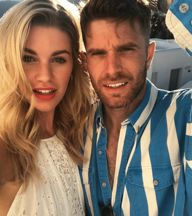 Joel Dommett gets all cute over wife Hannah changing her surname on Instagram after Mykonos wedding