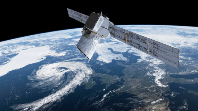 The European Space Agency's Aeolus Earth observation satellite (Image: ESA)