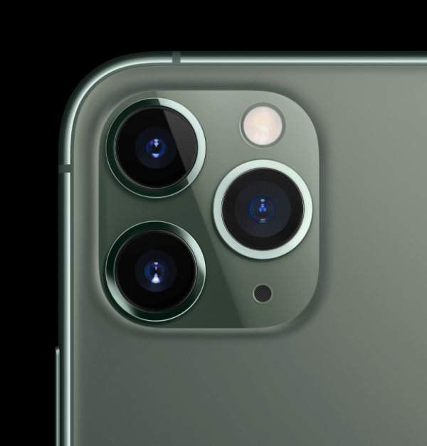 The iPhone 11 Pro's triple camera system is making trypophobia sufferers feel uncomfortable (Image: Apple)