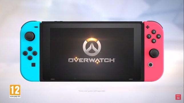 Overwatch on Nintendo Switch
