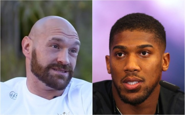 Tyson Fury says Anthony Joshua should not try to change his style