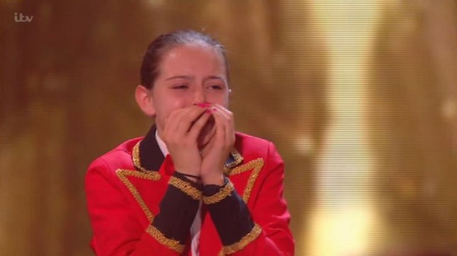 Britain's Got Talent's Alexa Lauenburger in tears as Ant and Dec award her golden buzzer