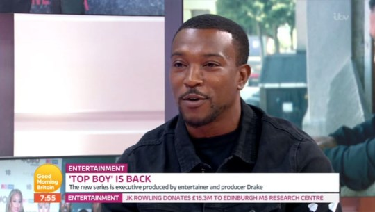 Ashley Walters on Good Morning Britain