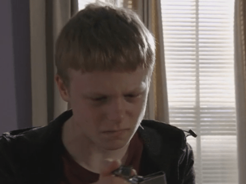 What is wrong with Bobby Beale in EastEnders?