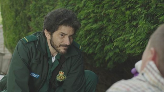 Uriel Emil as new paramedic Lev on Casualty