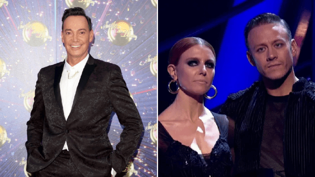 Craig Revel Horwood and Kevin Clifton and Stacey Dooley