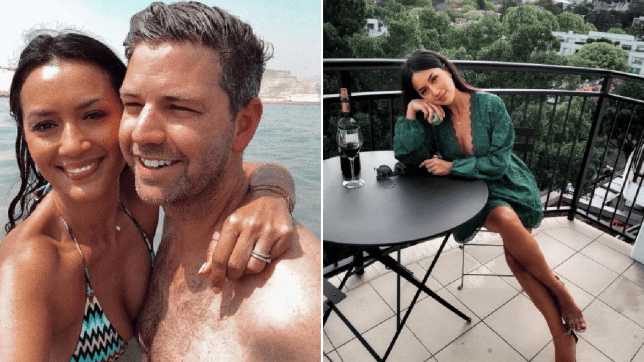 Bianca Cheah and her husband, Simon Chalmers,