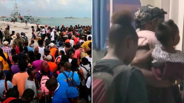 Bahamian Evacuees