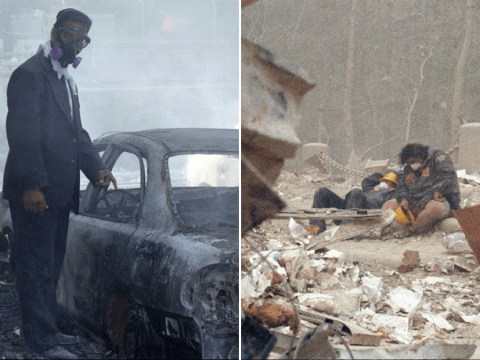 Devastating unseen photos from 9/11 show the week that forever changed a country
