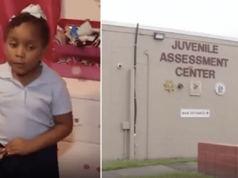 Girl, 6, arrested, handcuffed and charged for throwing a tantrum at school