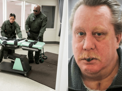 Sickly killer's blood vessels and tumors 'will explode in gruesome bloodbath' if he is executed by lethal injection