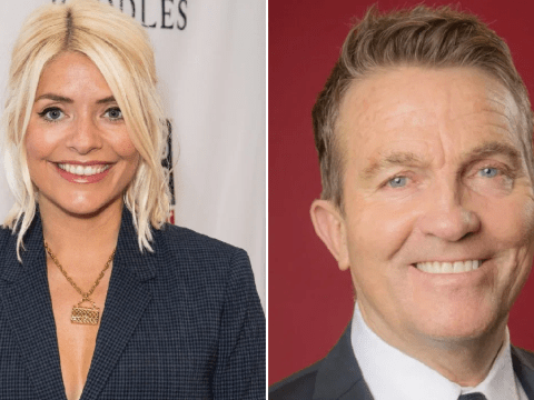Holly Willoughby switches Phillip Schofield for Bradley Walsh in BBC Christmas special