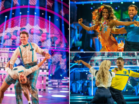 Who left Strictly Come Dancing last night in the first elimination of the new series?