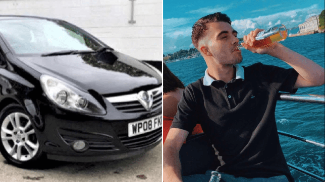 Connor Spear, 19, is still searching for his black Vauxhall Corsa nine days after he left it on an unknown road in Bristol.