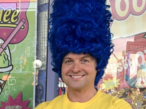 Ant McPartlin wishes Declan Donnelly a happy birthday with embarrassing Simpsons picture