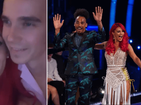 Dianne Buswell jokes 'time is up' with Joe Sugg as she gets new Strictly Come Dancing partner