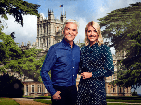 Holly Willoughby and Phillip Schofield go to Downton Abbey for special live This Morning broadcast