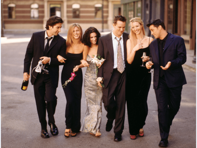Which Friends episodes are showing at the cinema and how to get tickets