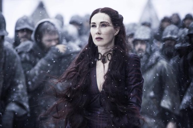 Melisandre dans Game Of Thrones