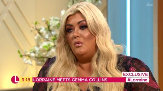 Gemma Collins on Lorraine
