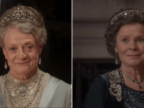Imelda Staunton talks mini Harry Potter reunion on Downton Abbey set