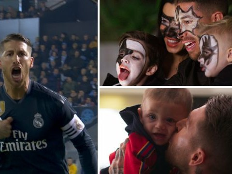 From family face-painting to shooting toast: Why Real Madrid legend Sergio Ramos' bizarre life will be your next TV obsession