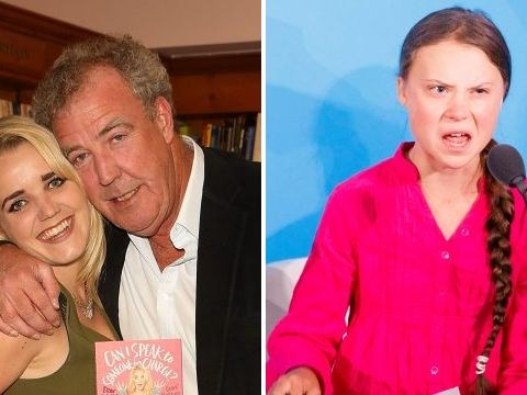 Jeremy Clarkson's daughter risks his wrath as she slams 'middle-aged men who criticise Greta Thunberg'