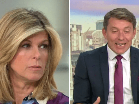 Ben Shephard admits he was 'transfixed' after catching Kate Garraway topless: 'I didn't want to move'