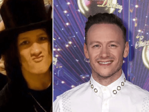Strictly Come Dancing's Kevin Clifton shares epic rocker throwback after dubbing himself a 'goth scarecrow'
