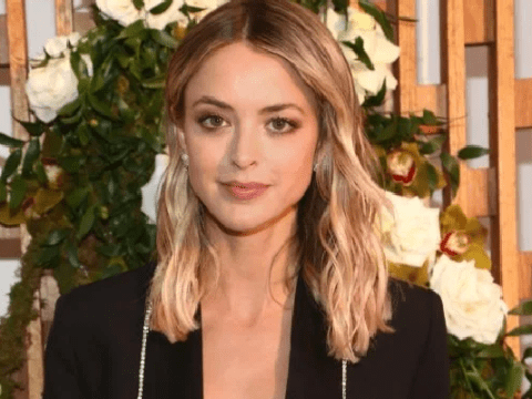 Miley Cyrus' ex Kaitlynn Carter makes power moves in fierce suit as she parties after split