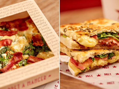 Pret launches autumn menu with 11 new treats