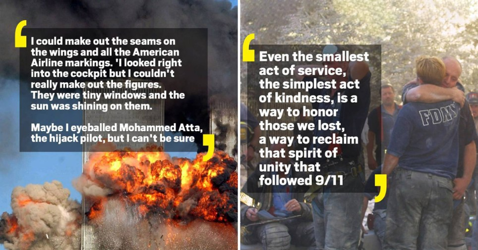 9 11 Remembrance Quotes Never Forget September 11 Metro News