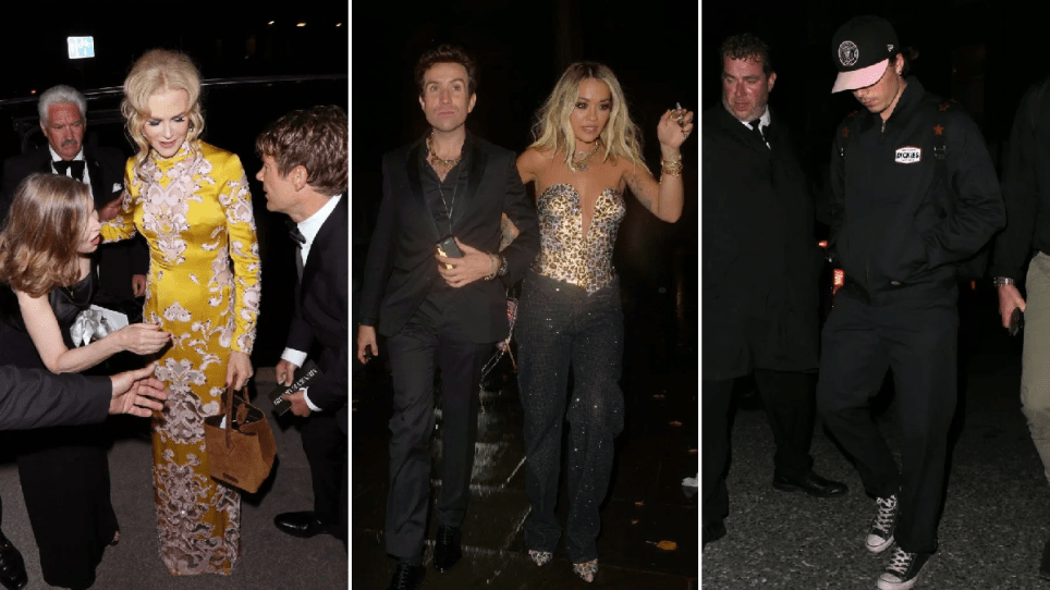 Rita Ora, Nicole Kidman, Brooklyn Beckham at GQ Awards after-party