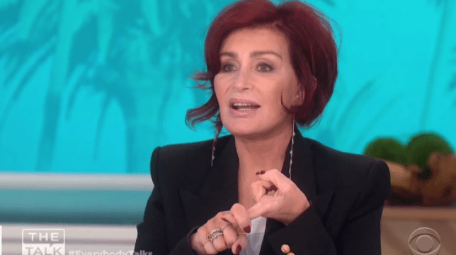 Sharon Osbourne's feeling herself as she shows off fourth facelift on chat show