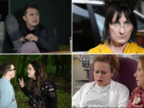 12 soap spoiler pictures: EastEnders romance, Coronation Street exit, Emmerdale betrayal and Hollyoaks disaster