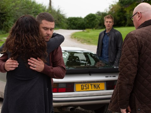 Emmerdale spoilers: Robert Sugden and Aaron Dingle flee in double exit drama