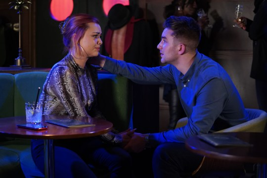 Whitney and Callum have a heart-to-heart in EastEnders