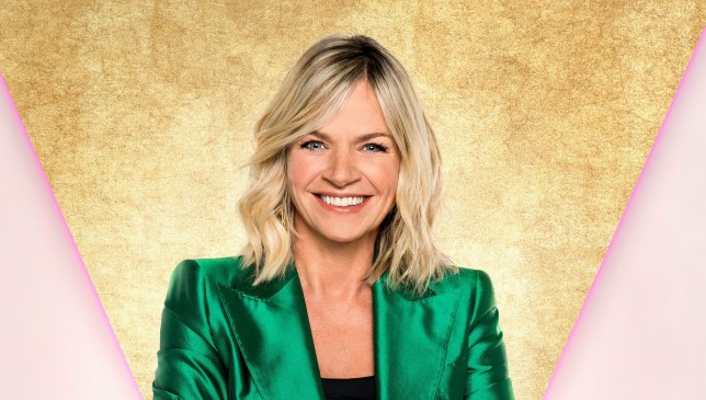 Zoe Ball presenter of It Takes Two