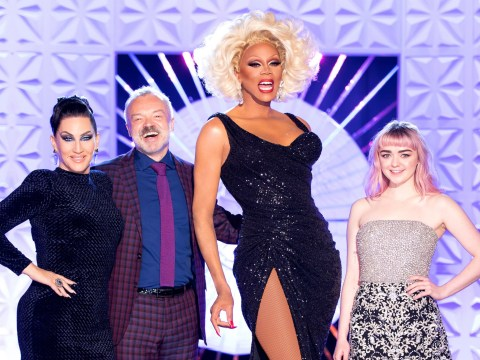 Game Of Thrones star Maisie Williams hits the runway on RuPaul's Drag Race UK