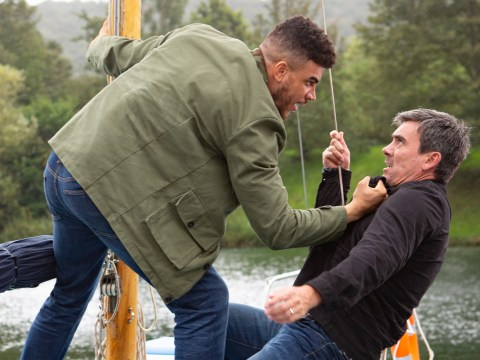 Cain discovers Nate is his son in shock Emmerdale twist