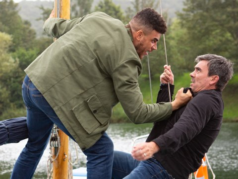 Emmerdale spoilers: Cain Dingle and Nate Robinson fight to the death