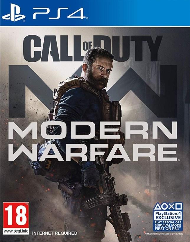 Call Of Duty: Modern Warfare box