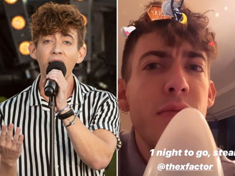 X Factor: Celebrity's Kevin McHale's performance in jeopardy as he loses voice hours before live shows