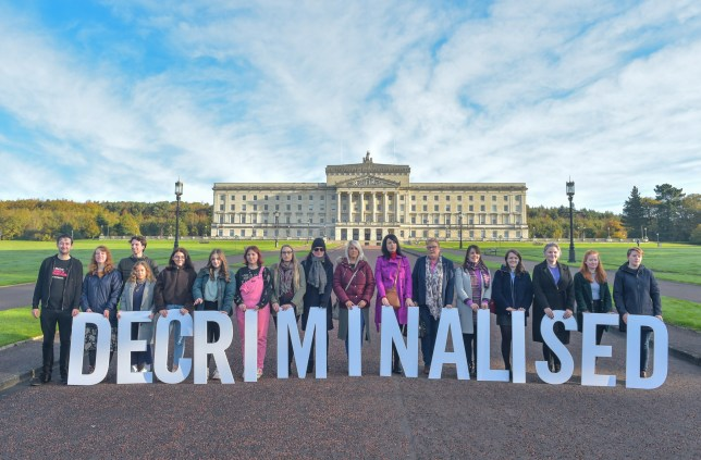Amnesty International Decriminalised abortion Northern Ireland