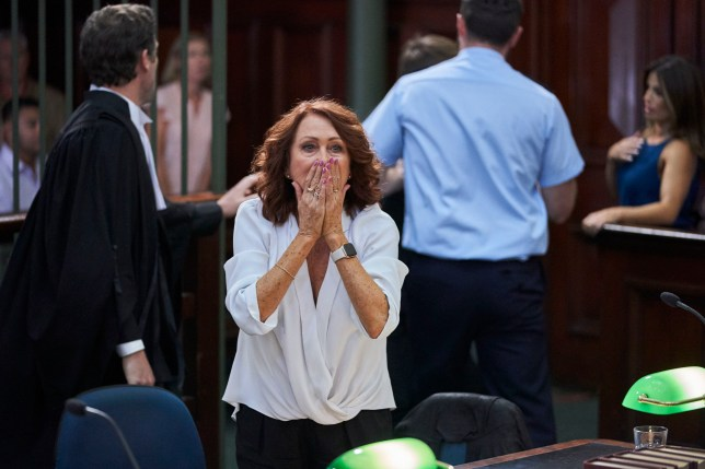 Irene in court